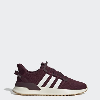 Tenis U_Path Run Burgundy Hombre Originals