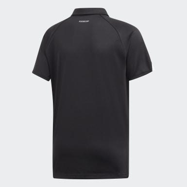 Camisa Polo Club Preto Meninos Tennis