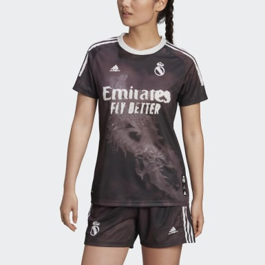 Real Madrid Human Race Jersey Czerń