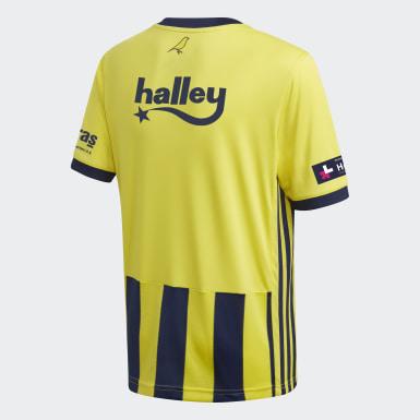 Camiseta primera equipación Fenerbahce 20/21 Amarillo Niño Fútbol