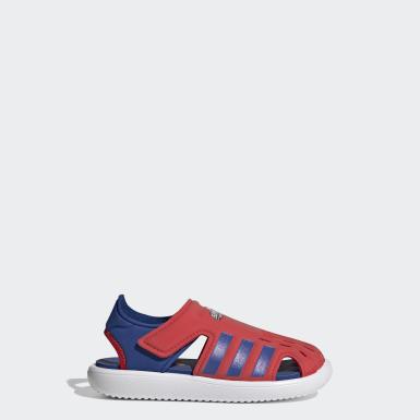Water Sandals Czerwony