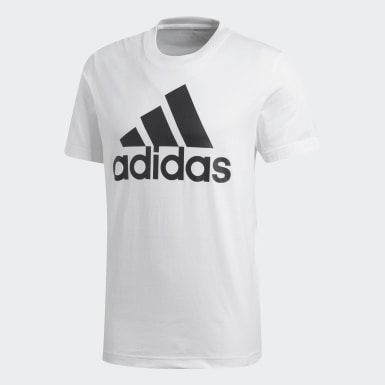 Men Athletics White Essentials Linear T-Shirt