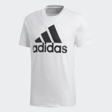 T-shirt Essentials Bianco Uomo Athletics