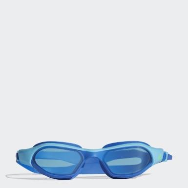 Gafas de natación persistar 180 unmirrored junior (UNISEX) Azul Niño Natación
