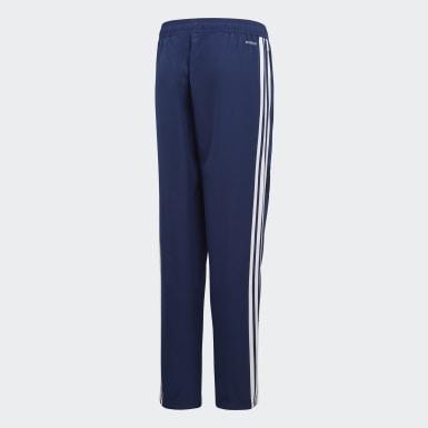 Děti Trénink modrá Kalhoty Tiro 19 Woven