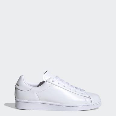 Kadın Originals Beyaz Superstar Pure LT Ayakkabı