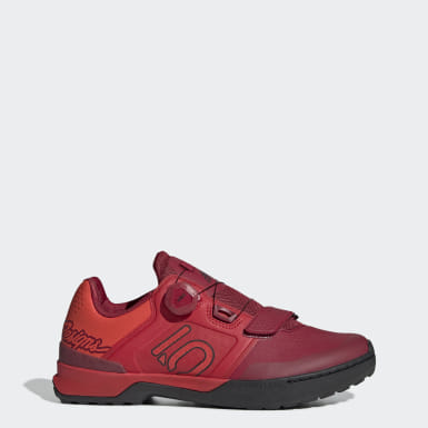 Sapatos de BTT Kestrel Pro Boa TLD Five Ten Vermelho Five Ten