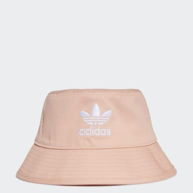 Originals Pink Trefoil Bucket Hat