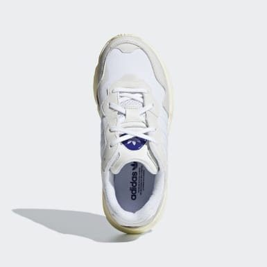 Youth Originals White Yung-96 Shoes