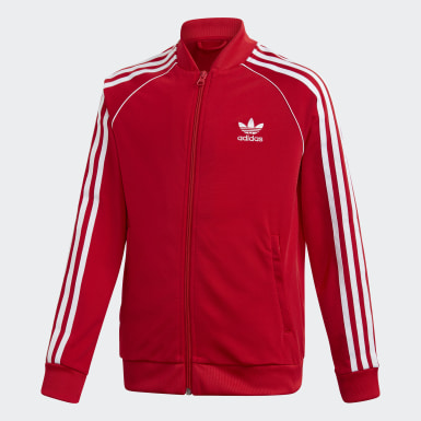 Kinderen Originals rood SST Trainingsjack