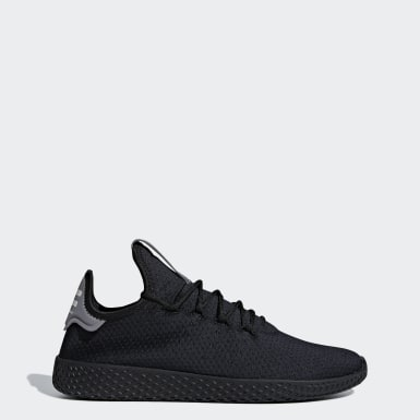 Originals Μαύρο Pharrell Williams Tennis Hu Shoes