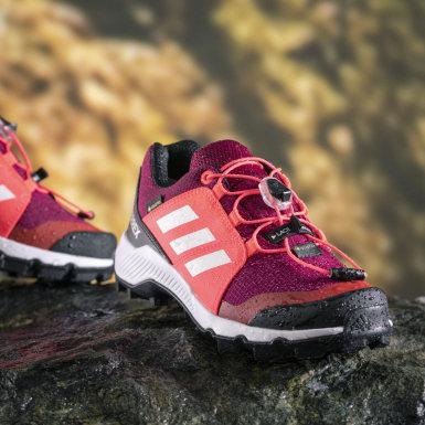 Zapatilla Terrex GORE-TEX Hiking Burgundy Niño TERREX
