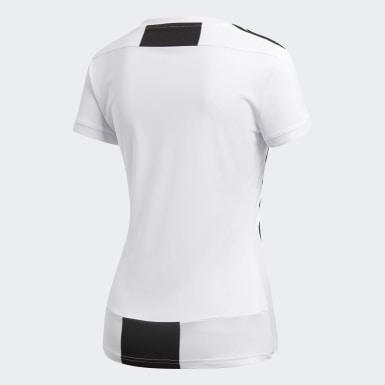 Women Football White Juventus Home Jersey