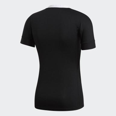 Camiseta primera equipación Performance All Blacks Negro Hombre Rugby