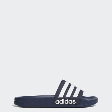 Træning Blå Adilette Cloudfoam sandaler