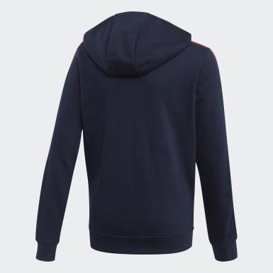 Sweat-shirt à capuche adidas Athletics Club Bleu Garçons Athletics
