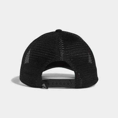 Men's Volleyball Black USA Volleyball Tailored Jack Trucker Hat