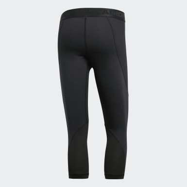 Tight 3/4 Alphaskin Sport Nero Uomo HIIT