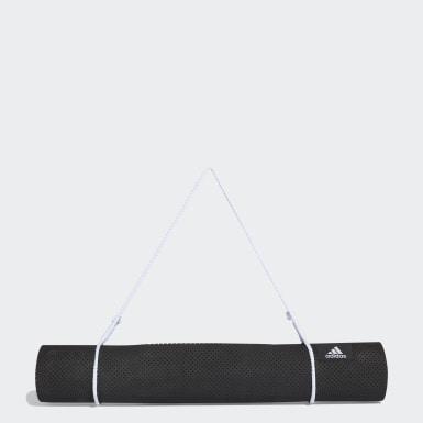 черный Коврик для йоги