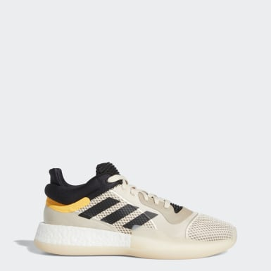 Dames Basketbal Beige Marquee Boost Low Schoenen