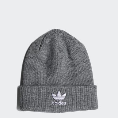 Children Originals Grey Trefoil Beanie