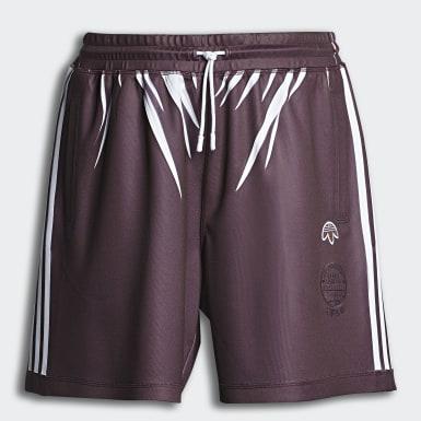 AW Shorts Burgundy Originals