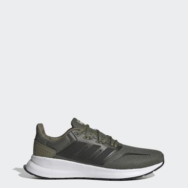 Sapatos Runfalcon Verde Homem Running
