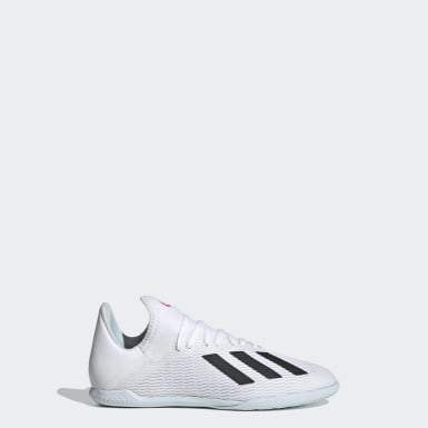 Chaussure X 19.3 Indoor Blanc Enfants Football