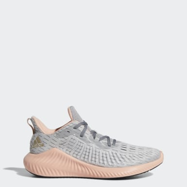 Kadın Koşu Gri Alphabounce+ Run Ayakkabı