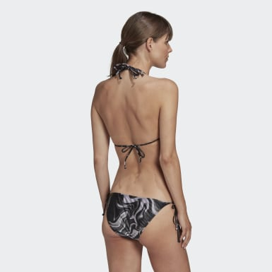 Bikini Glam-On Shiny Triangle Grigio Donna Nuoto