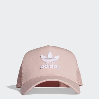 Originals Pink Trefoil Trucker Cap
