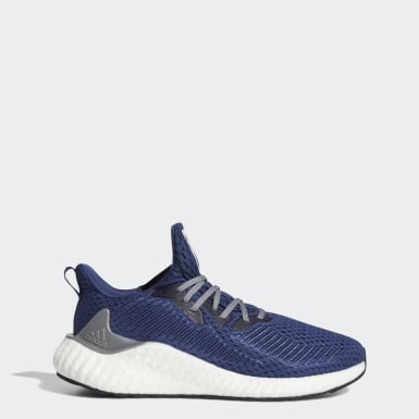 Men Running Blue Alphaboost Shoes