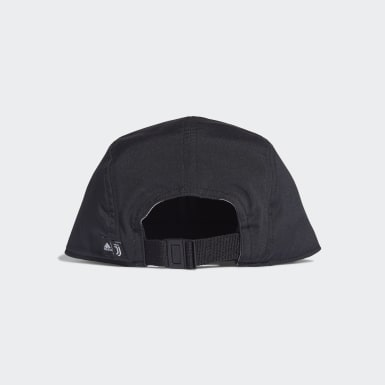 Fotboll Svart Juventus Five-Panel Cap