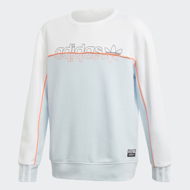 Boys Originals Blå Crew Sweatshirt