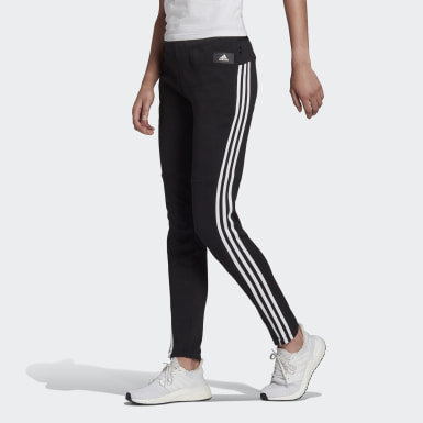 Women Athletics Black adidas Sportswear 3-Stripes Skinny Tracksuit Bottoms