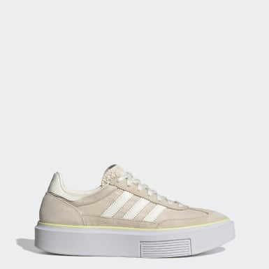 Dam Originals Beige adidas Sleek Super 72 Shoes