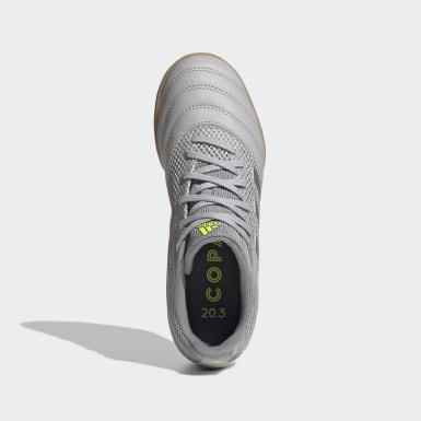 Børn Fodbold Grå Copa 20.3 Sala Indoor støvler