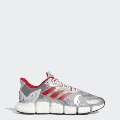 Sapatos Climacool Vento Prateado Running