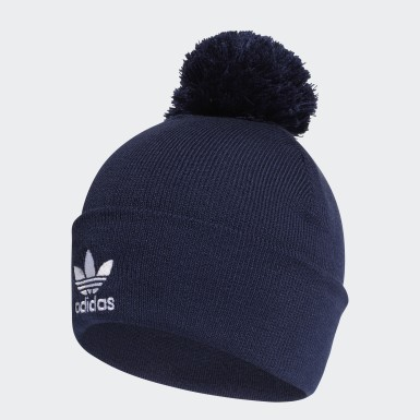 Originals Blue Adicolor Bobble Beanie