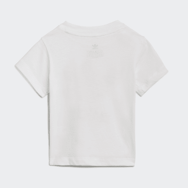 T-shirt Trefoil Blanc Enfants Originals