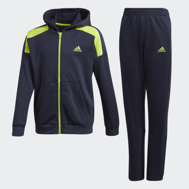 синий Спортивный костюм AEROREADY Warming Tech