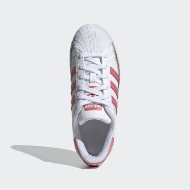 Barn Originals Vit Superstar Shoes