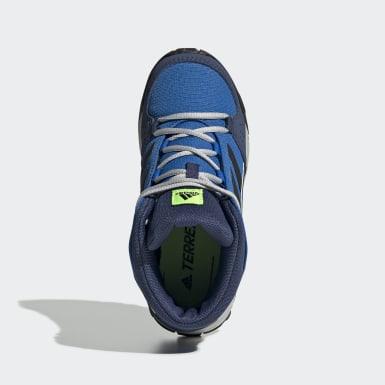 Sapatos de Caminhada Hyperhiker TERREX Azul Criança TERREX
