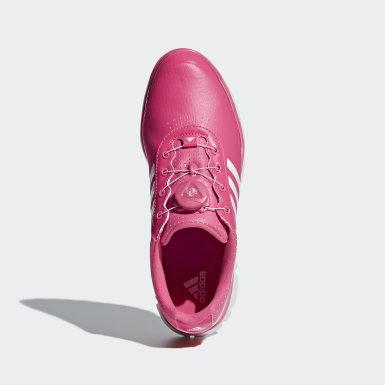 Kvinder Golf Pink Adistar Lite Boa sko