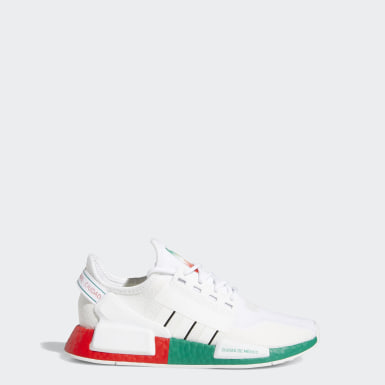 Youth Originals White NMD_R1 V2 Mexico City Shoes