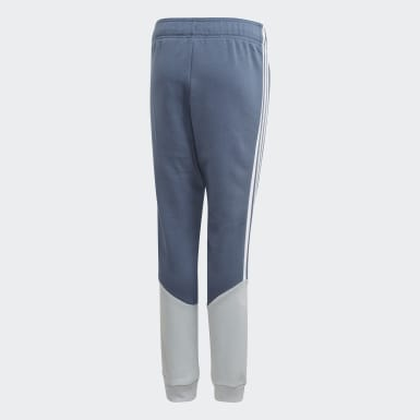 Pantaloni Outline Blu Bambini Originals