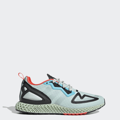 Men Originals Green ZX 2K 4D Shoes