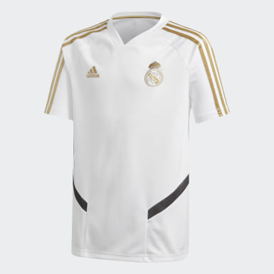 Maillot d'entraînement Real Madrid Blanc Enfants Football