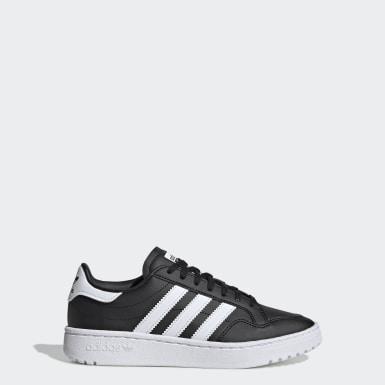 Sapatos Team Court Preto Criança Originals