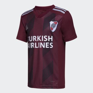 Camiseta Visitante River Plate Burgundy Niño Fútbol
